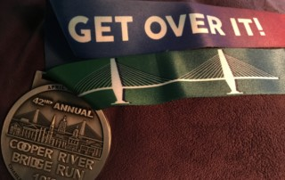 2019 Cooper River Bridge Run Medal