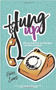Book cover image: Hung Up, by Haley Evans