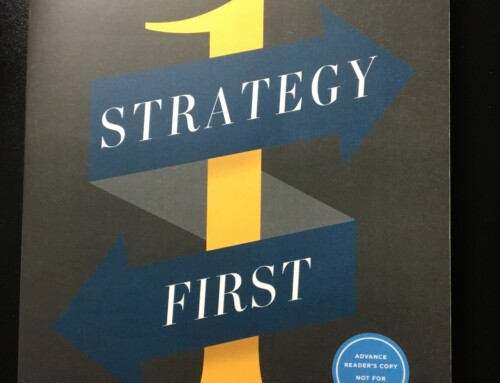 Strategy First (Book Review)